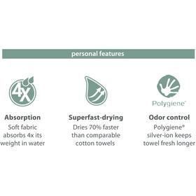 PackTowl Personal Body Towel alpine reflct